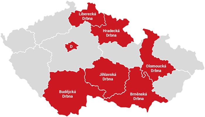Drbna.cz vstupuje do Královéhradeckého kraje